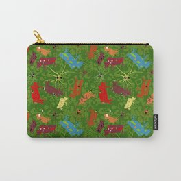 Tropical dawn, frogs and spiders Carry-All Pouch