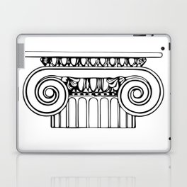 Ionic column Laptop & iPad Skin