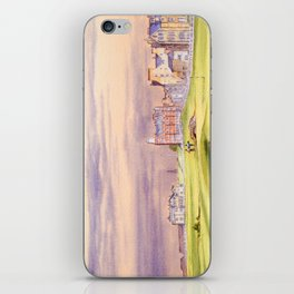 St Andrews Golf Course Scotland 17th Green iPhone Skin
