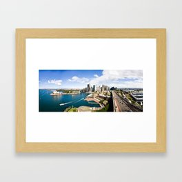 Sydney Skyline Framed Art Print