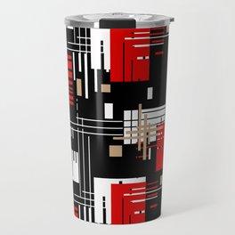 Abstract pattern Retro 2 Travel Mug
