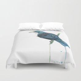 The Parson Bird aka Tui Duvet Cover