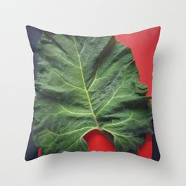 Burdock sheet Throw Pillow