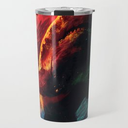 Great White Star  Travel Mug