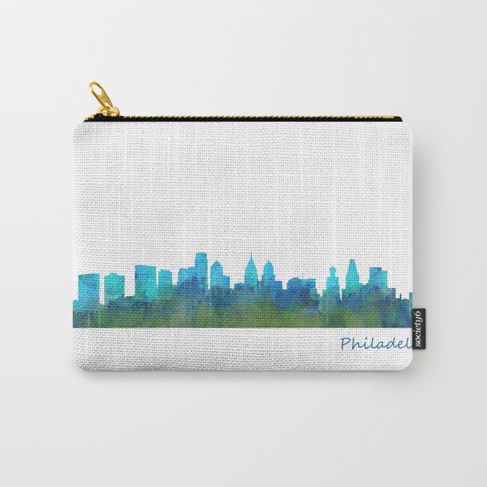 Philadelphia City Skyline Hq V1a Carry-All Pouch