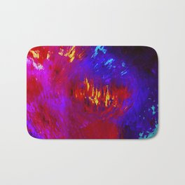 Abstract The Perfect Storm by Robert S. Lee Bath Mat