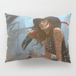 Pirate Haven Tortuga Pillow Sham