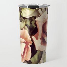 Vintage Rose Garden - Painterly Travel Mug