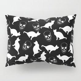 Skull Kats Pillow Sham