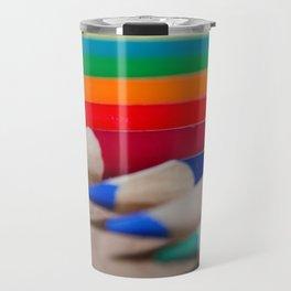 Colorful Life 4 Travel Mug