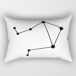 Libra Astrology Star Sign Minimal Rectangular Pillow