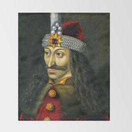 Vlad the Impaler Throw Blanket
