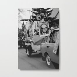 1 May in the ex-GDR Metal Print