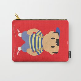 Ness - Earthbound - Super Smash Brothers - Minimalist Carry-All Pouch