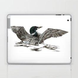 Morning Stretch - Common Loon Laptop & iPad Skin