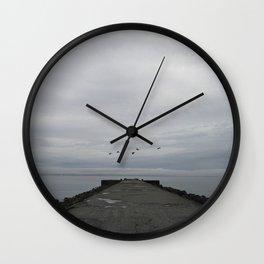 northern melancholy Wall Clock