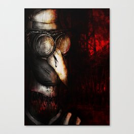 Vintage Pyrotechnical Canvas Print