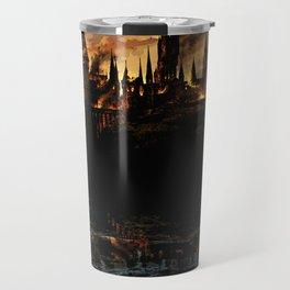 Harry Potter - Hogwart's Burning Travel Mug