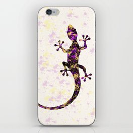 Abstract Lizard iPhone Skin