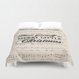 Have yourself a merry little Christmas Duvet Cover