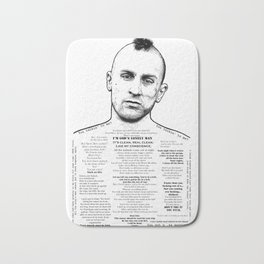 Travis Bickle - God's Lonely Man - Ink'd Series Bath Mat