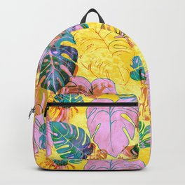 Kona Tropic Yellow Backpack