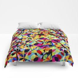 Geometric Botanicals 1 Comforters