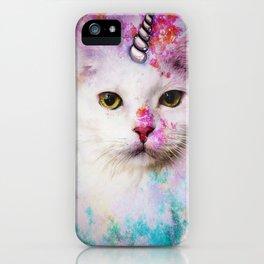 Unicorn Cat iPhone Case