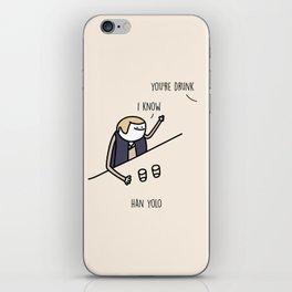 Han Yolo iPhone Skin