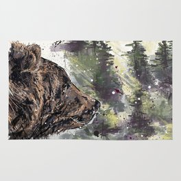 Boreal Bear Rug