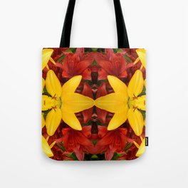 """""""A Gathering of Lilies"""" Remix - 4 (1-1) [D4469~57] Tote Bag"""