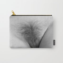 Origin. Delicate Pussy of Sexy Nude Woman Carry-All Pouch
