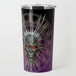Face of the Demon King .. fantasy art Travel Mug