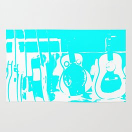 Sun Studio Guitars, Blue Rug