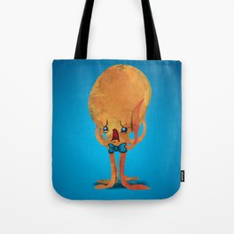 Frank, the Scared Octopus Tote Bag
