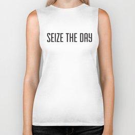 Seize the day Biker Tank