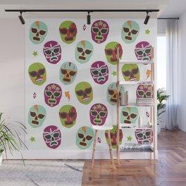 Máscaras Wall Mural