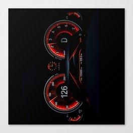 Speedometer Canvas Print