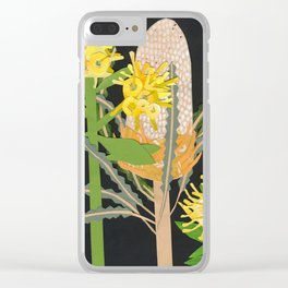 Acorn Banksia Clear iPhone Case
