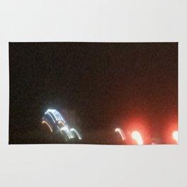 Abstracte Light Art in the Dark 18 Rug