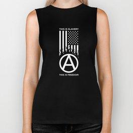 Anrchy is freedom Biker Tank