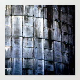 Silo Side Canvas Print