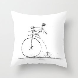 Death Of Me Throw Pillow