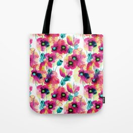 happy floral Tote Bag