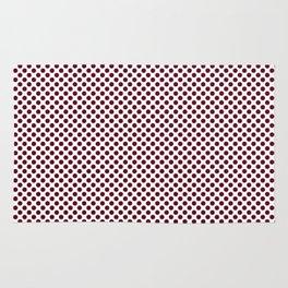 Garnet Polka Dots Rug
