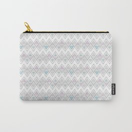 Abstract pyramid Carry-All Pouch