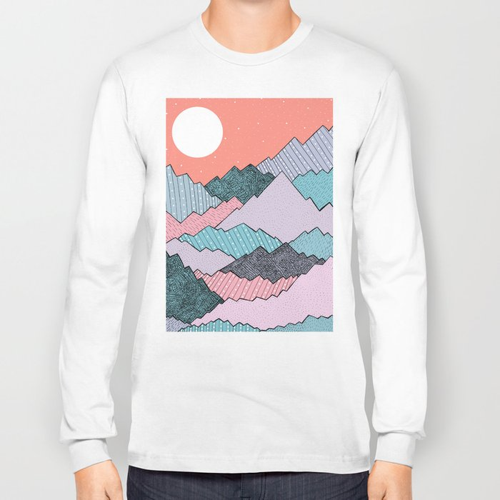 Mountain Tones Long Sleeve T-shirt