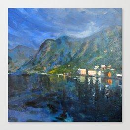 Sognefjord Canvas Print