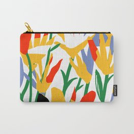 abstract flowers Carry-All Pouch