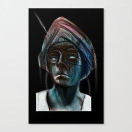 Lady Decco Canvas Print